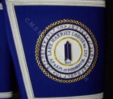 Custom Officer Gauntlets/Cuffs with Emblem