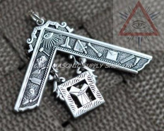 Silver Past Masters Jewel