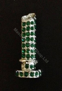 Order of the Easter Star Pin Officer Jewel -Column
