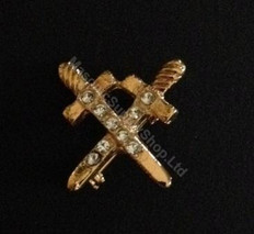 Order of the Easter Star Pin Officer Jewel  Crossed Swords