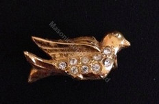 Order of the Easter Star Pin Officer Jewel  Dove