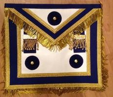 Master Master Apron Royal Blue with Fringe