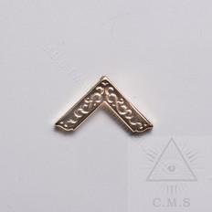 Worshipful Master Square lapel pin