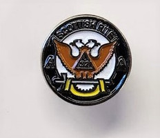 Scottish Rite Lapel Pin