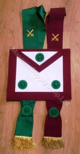 Knight Mason  Apron & Sash Set