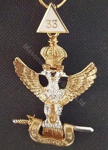 Scottish Rite  33rd  Degree Collar Jewel  Eagle