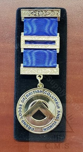 Past District Deputy Breast Jewel    BC