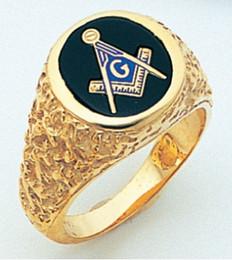 Gold Masonic Rings | Canadian Masonic Supply Shop (Freemason Store)