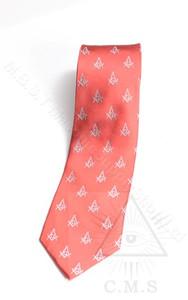 Masonic Red Tie
