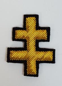 Knight Templars   Jacket  Gold Cross   PAIR