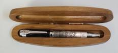Wooden Pen & Box Set  Walnut-1