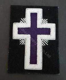 Purple Knight Templar Cross