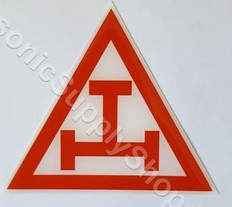 Royal Arch Tau Car Decal