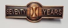 seventy year member bar