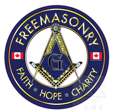 Masonic Car decal Canada