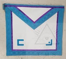 Memphis Misraim  Member Apron