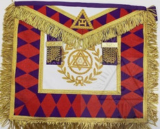 Royal Arch Grand Chapter Apron  Grand Superintendent   Ontario