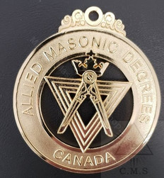 Allied Masonic Degees  Grand Council Collar Jewel