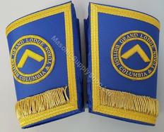Masonic Grand Lodge Cuffs,  Gauntlets