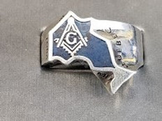 The Ontario Masonic Ring   Silver