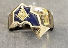The Ontario Masonic Ring   Gold