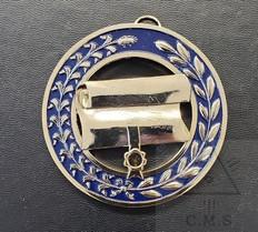 Grand Registrar   Collar Jewel  Scroll  Blue