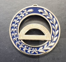 Grand Superintendent of the Work   Collar Jewel  Protractor  Blue