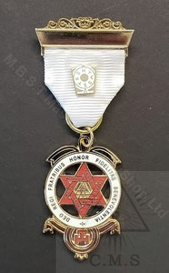 Royal Arch Companion Jewel traditional design