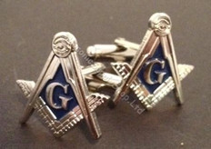 Masonic Silver Cuff links