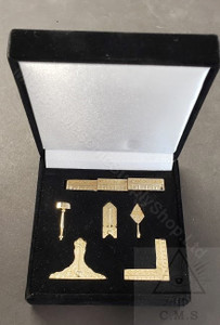 Miniature  Set of Masonic Working Tools
