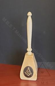 Masonic Upright Presentation Gavel