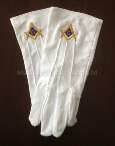 Masonic Dress Gloves