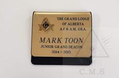 Grand Lodge name badge
