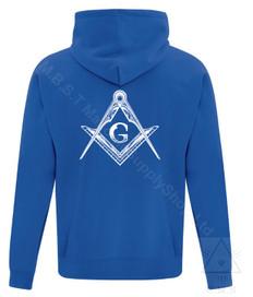 Masonic Hoodie  Blue