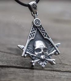 Masonic Skull Pendant