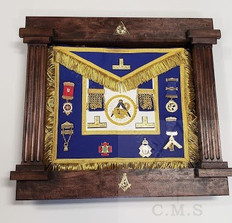 Masonic Shadow Box