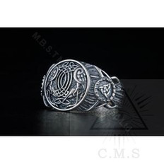 Norse Raven Ring