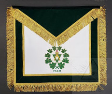 A.M.D  Past Sovereign Grand Masters  Apron