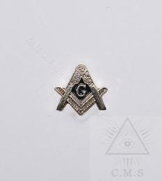 Masonic Square and Compass Lapel Pin