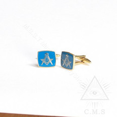Masonic Blue Cuff  Links