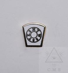 Mark  Kope Stone lapel pin