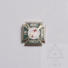 York Rite lapel pin
