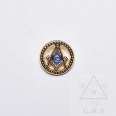 Masonic Square & Compasses Lapel Pin
