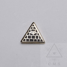 Masonic Pyramid Lapel pin