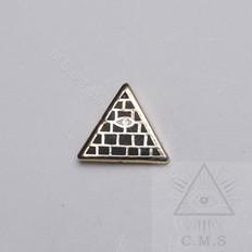 Masonic Pyramid Lapel pin