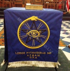 Custom Masonic Altar Cloths