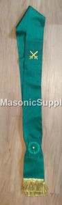 Knight Mason Green Sash