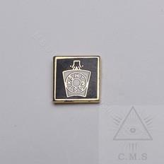 Mark lapel pin