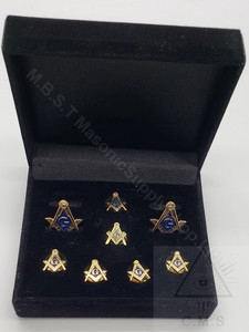 Masonic Cuff link and Stud set