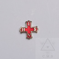 Red Cross of Constantine Lapel pin